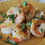 Shrimp with Tequila and Orange for Cinco de Mayo
