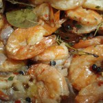 Barbecued Shrimp- Good for Super Bowl, and Good for Valentine's Day, too!