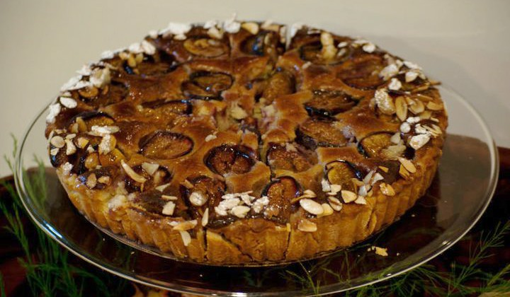 Frangipane Fig Tart Enhanced