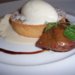 Meeting John Besh, Eating at Restaurant August and Recipe for Brown Butter Fig Tart