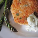 Summer Garden Parties- and a Recipe for Salmon Cakes