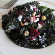 Kale Salad with Roasted Beets copy