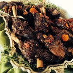 Braised Lamb Shanks for Passover or Easter Week