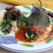 Crab and Goat Cheese Stuffed Chiles for Cinco De Mayo