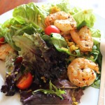 Bodega Bay to Jenner – and a Simple Salad with Shrimp and Quinoa