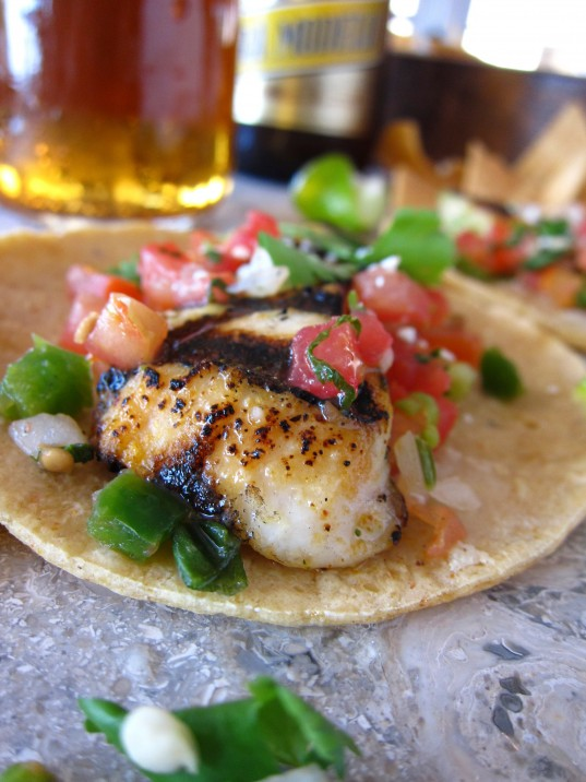 Blanco's Grilled Fish Taco