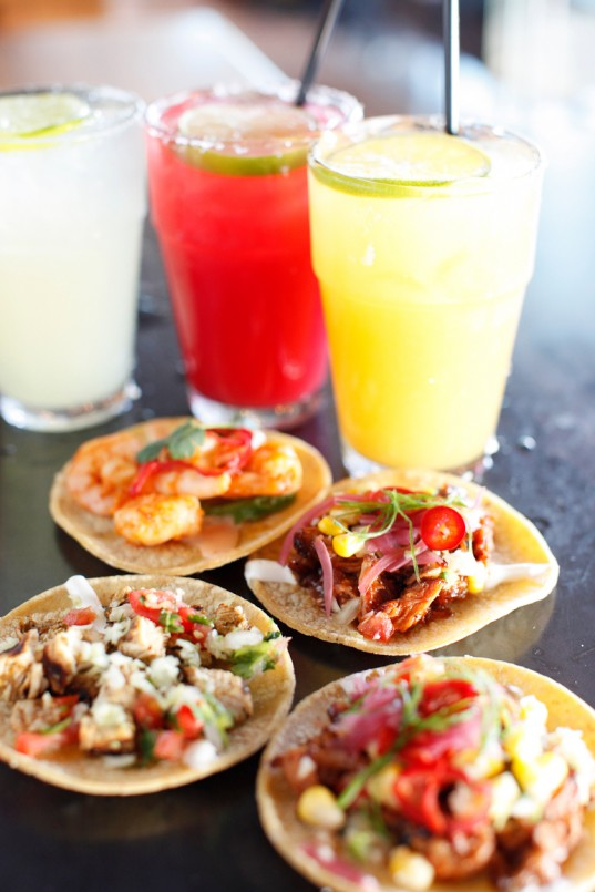 A Variety of Tacos from Blanco