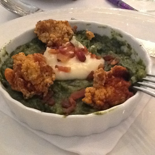 Broussard's Oysters Rockefeller
