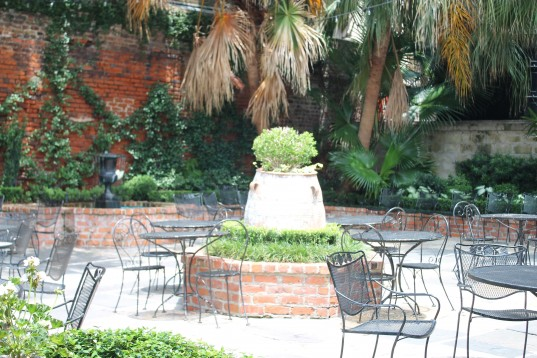 Courtyard at Broussard's