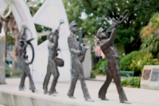 New Orleans Marching Band Monument