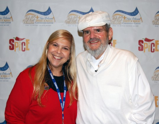 Chef Paul with my friend, Rose
