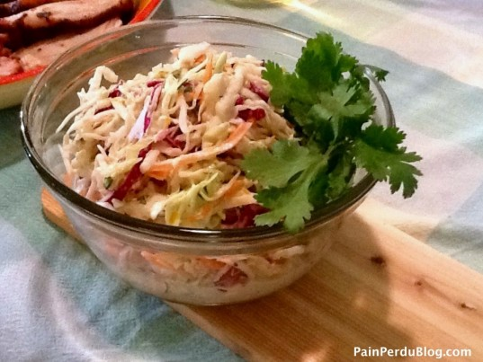 Orange Cilantro Cole Slaw