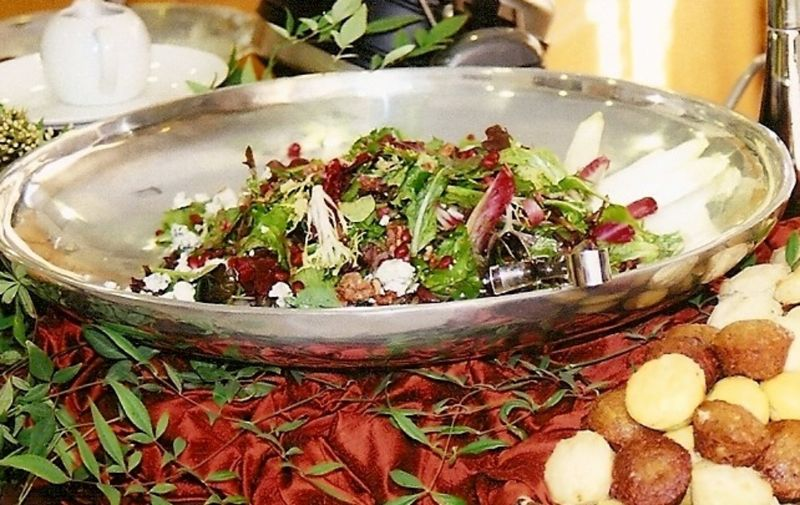 Salad and muffins- cropped and resized