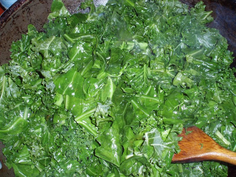 A Pan Full of Greens Resized