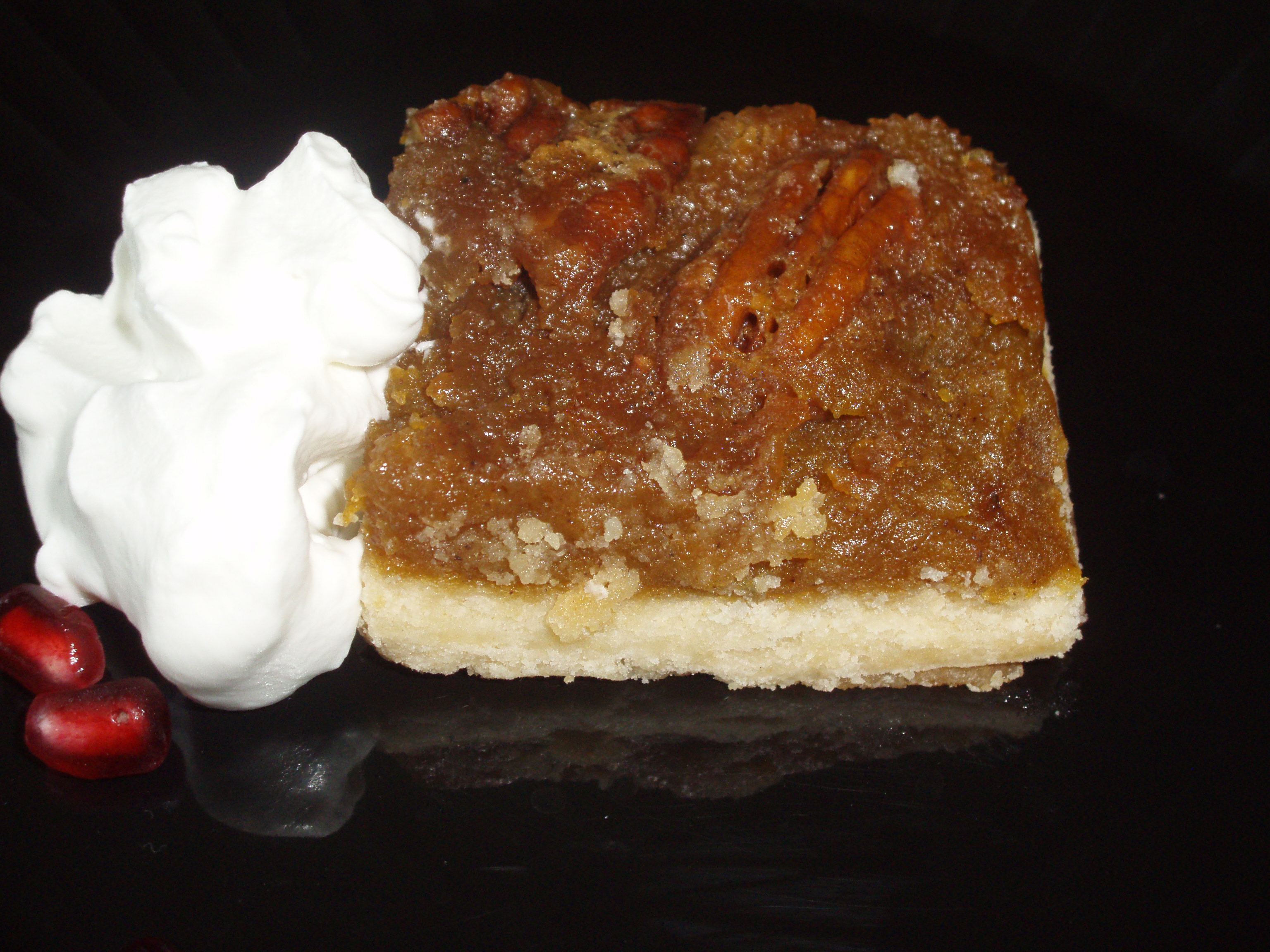 Sweet Potato Pecan Pie Bars | Painperdu