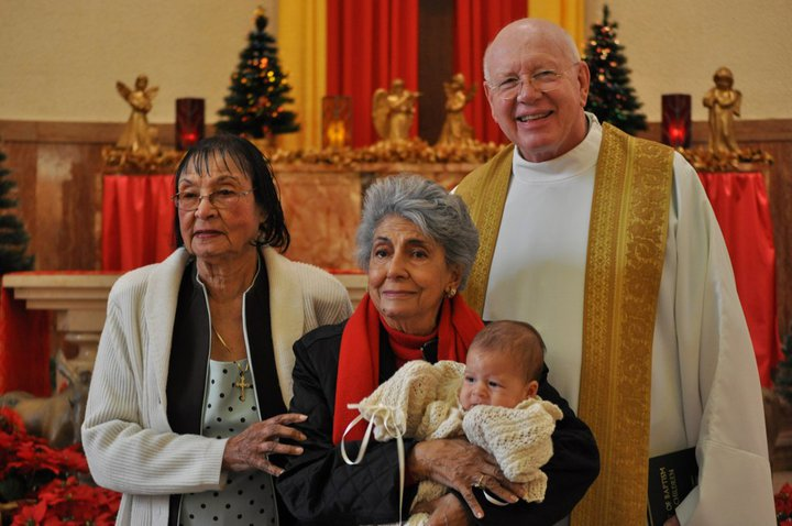 Mother, Margaret and Father Shelton