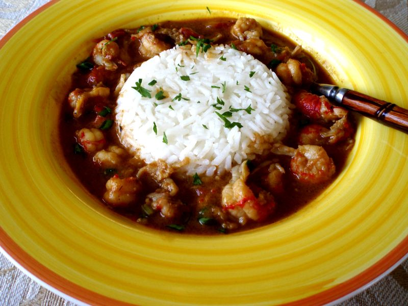 Crawfish Etoufée