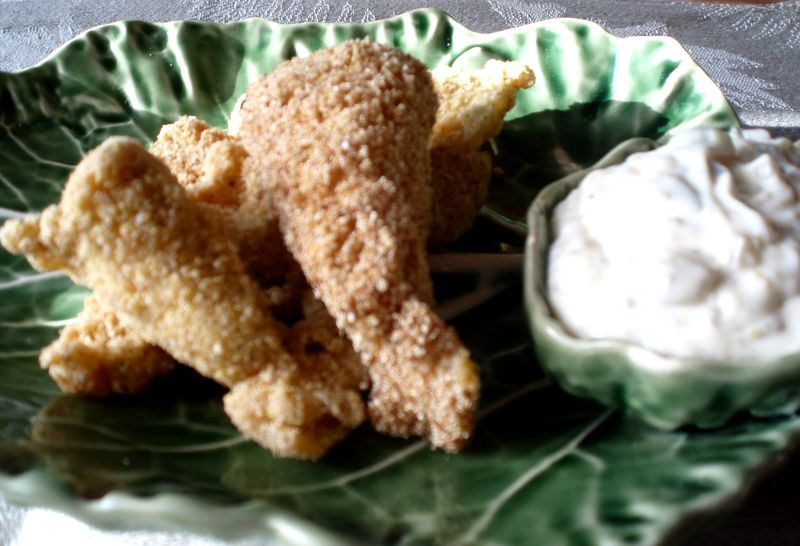 Fried Catfish with Gribiche