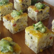 Summer Garden Parties- Two Vegetable Frittatas Using Summer's Bounty