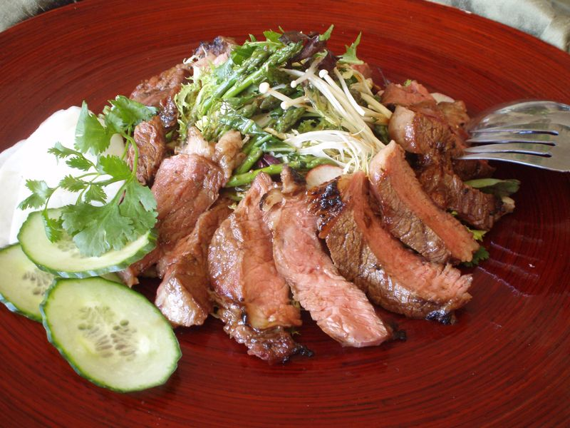 Hoisin Steak Salad