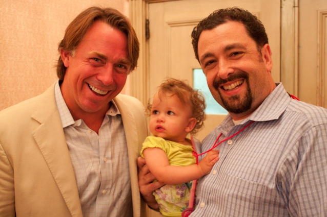 John Besh, Barnaby Dorfman and Child-JPG