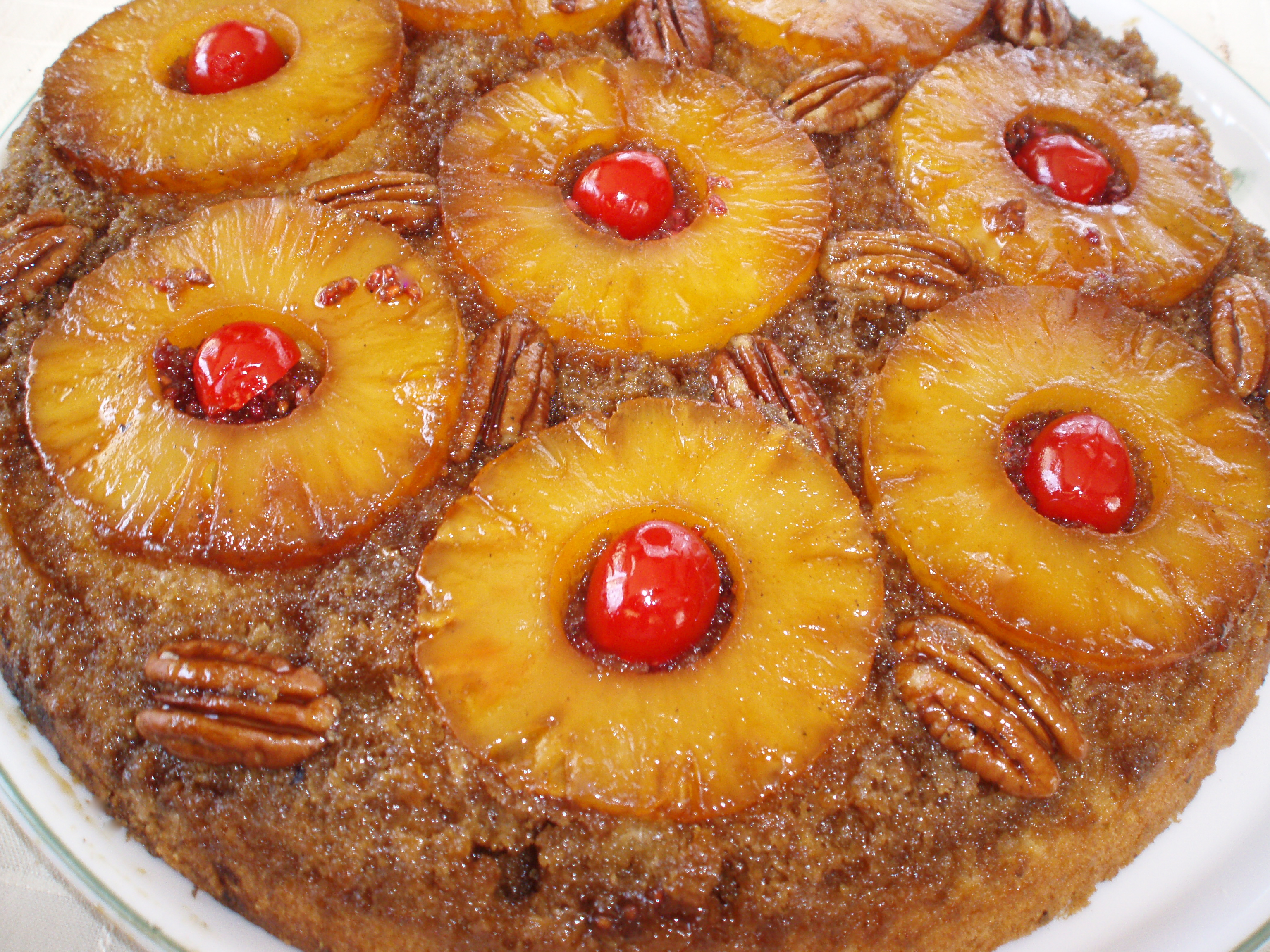 Pineapple Upside-Down Cake Recipe — Dishmaps