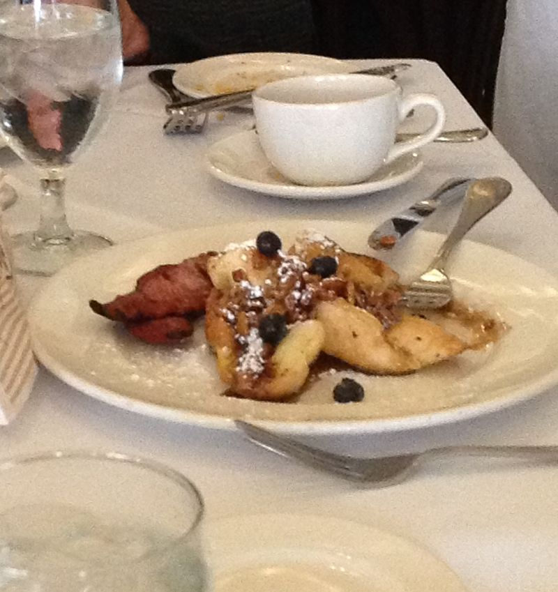 French Toast- Palace Cafe