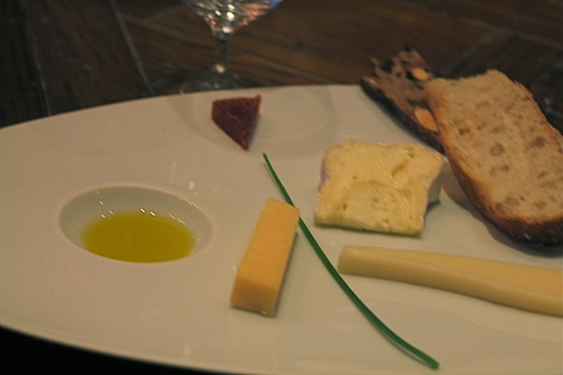 Tasting Plate at Jordan Winery