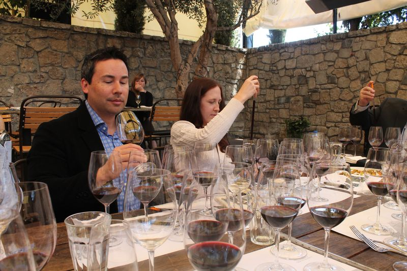 Blending Wines with KJ