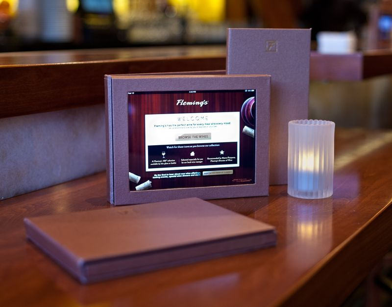 Flemings Steakhouse WinePad